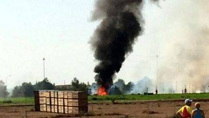 Spagna, aereo Eurofighter precipita al suolo: morto il pilota