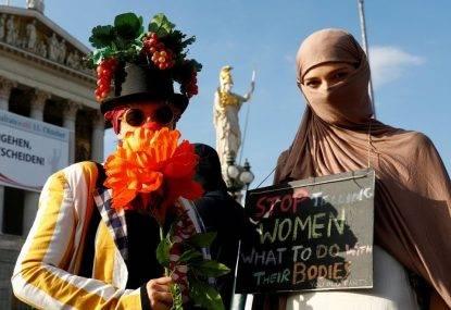 Austria, bando totale a burqa e niqab
