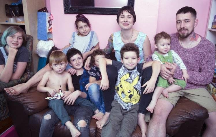 mamma di sette figli