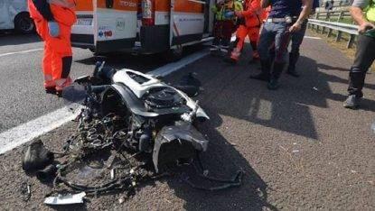 Tragico incidente in Tangenziale: muore un centauro di 27 anni