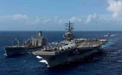 dispiegamento navale usa