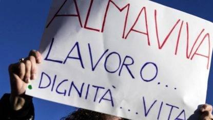 Sentenza di reintegro per 153 lavoratori Almaviva