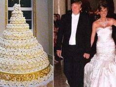 torta nuziale di donald trump