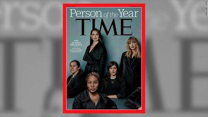 """Il Movimento #MeToo è la persona dell'anno di """"Time 2017"""""""