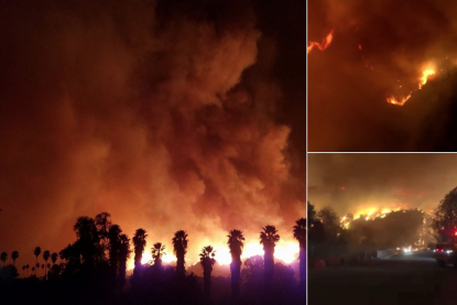 Apocalisse nella California in fiamme: evacuate 27 mila persone. Allarme a Los Angeles [VIDEO]