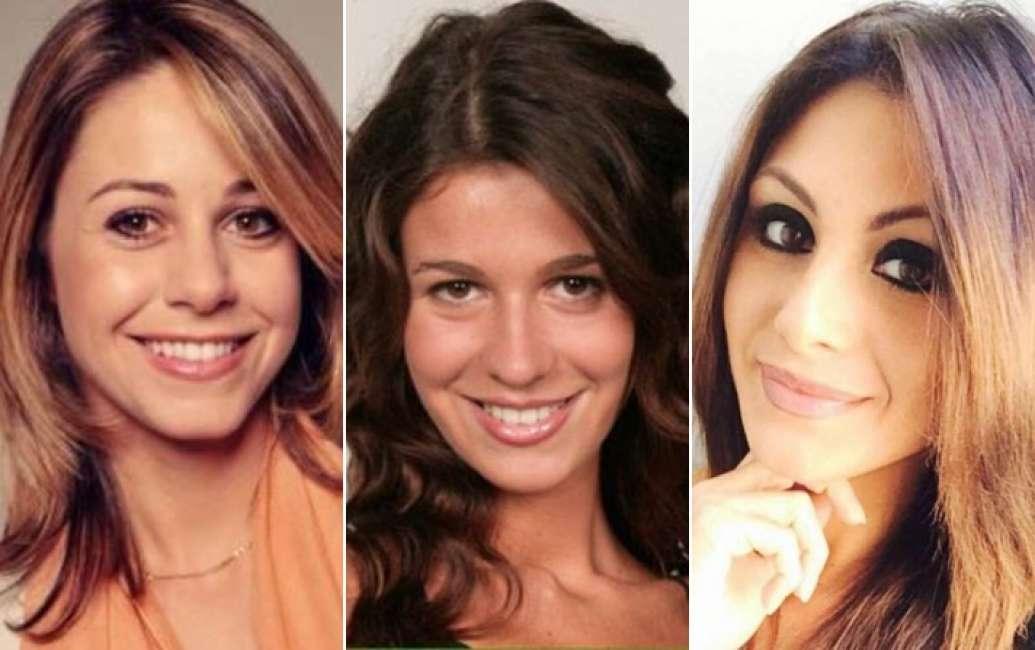 Le tre bellissime candidate con Silvio Berlusconi