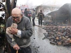 anziano e gattino