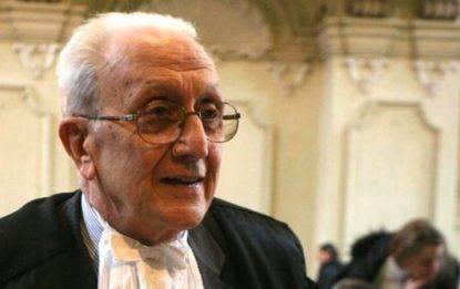 E' morto all'età di 81 anni il giudice Ferdinando Imposimato