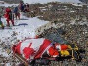 Cadavere sul monte Everest