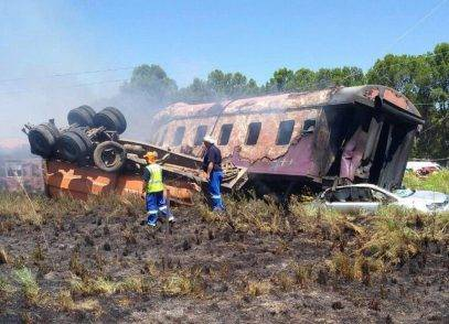 Incidente ferroviario in Sudafrica, 18 morti e 260 feriti