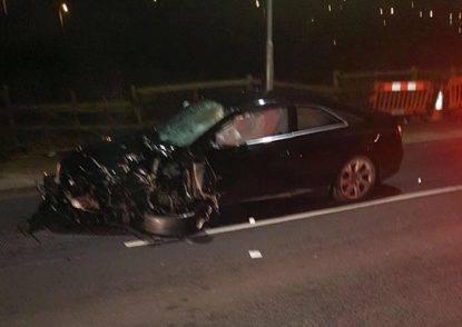 Audi nera che ha ucciso tre giovani a Londra