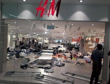 vandalismo h&M