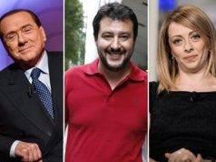 Belusconi, Salvini e Meloni