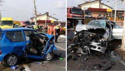 Incidente stradale in Veneto