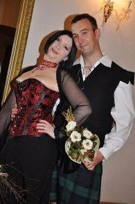 Brit David Haines e la moglie Dragana