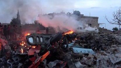 Aereo russo si schianta in Siria