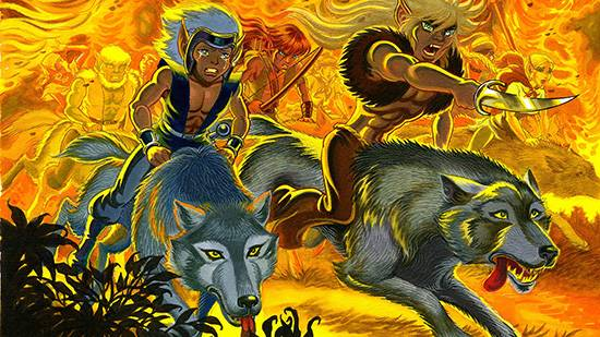 Elfquest, una saga fantasy durata quarant'anni vede protagonisti elfi e lupi