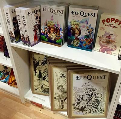 Alcuni libri di Elfquest