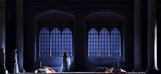 Una scena dall'Otello di Rossini