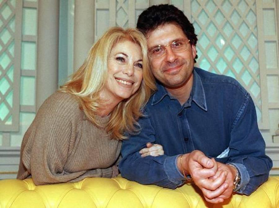 Rita Dalla Chiesa con Fabrizio Frizzi