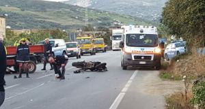 Pauroso schianto contro un tir, tragica morte per un motociclista Palermo Agrigento