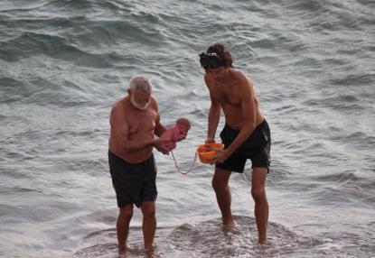 Parto turista nel mar Rosso