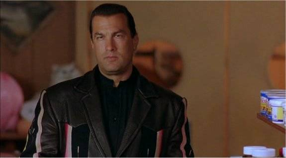 Stasera in TV Steavan Seagal