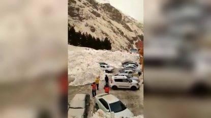 Valanga sul Monte Elbrus