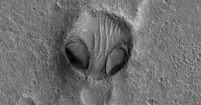 cratere alieno
