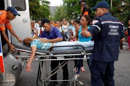 rivolte venezuela