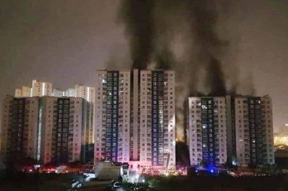 Terribile rogo nel complesso residenziale, 13 morti, 27 ustionati
