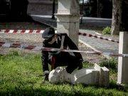 Busti dei patrioti distrutti al Gianicolo