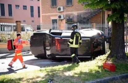 Incidente stradale a Ferrara