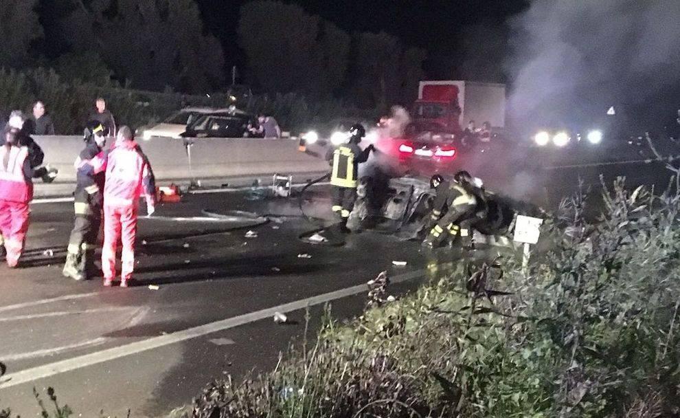 Inferno sulla statale: l'auto si ribalta e prende fuoco, morto l'ex sindaco amato da tutti