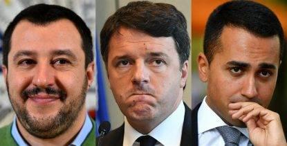 """Salvini lapidario: """"Di Maio amoreggia con Pd pur di andare al potere. Io sono leale coi miei elettori"""""""