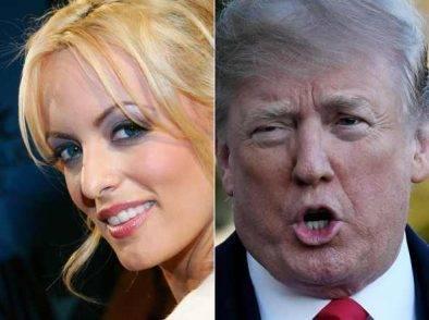 Stormy Daniels e Donald Trump