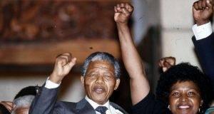 Winnie Mandela e Nelson Mandela