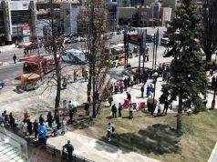 Un furgone è precipitato su una decina di passanti a Toronto, in Canada
