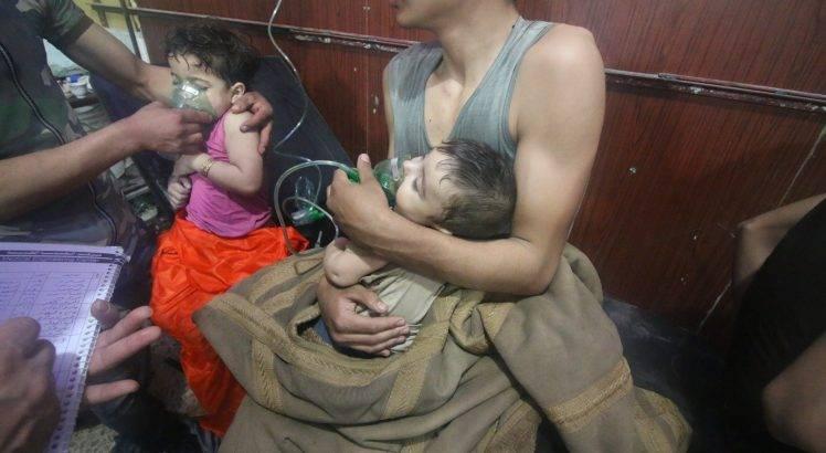 guerra chimica siria