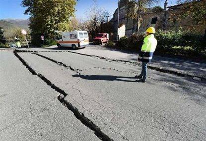 strade terremoto giappone