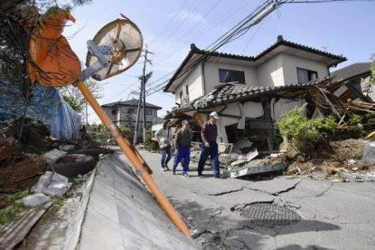 Forte scossa di terremoto in Giappone: magnitudo 6.1
