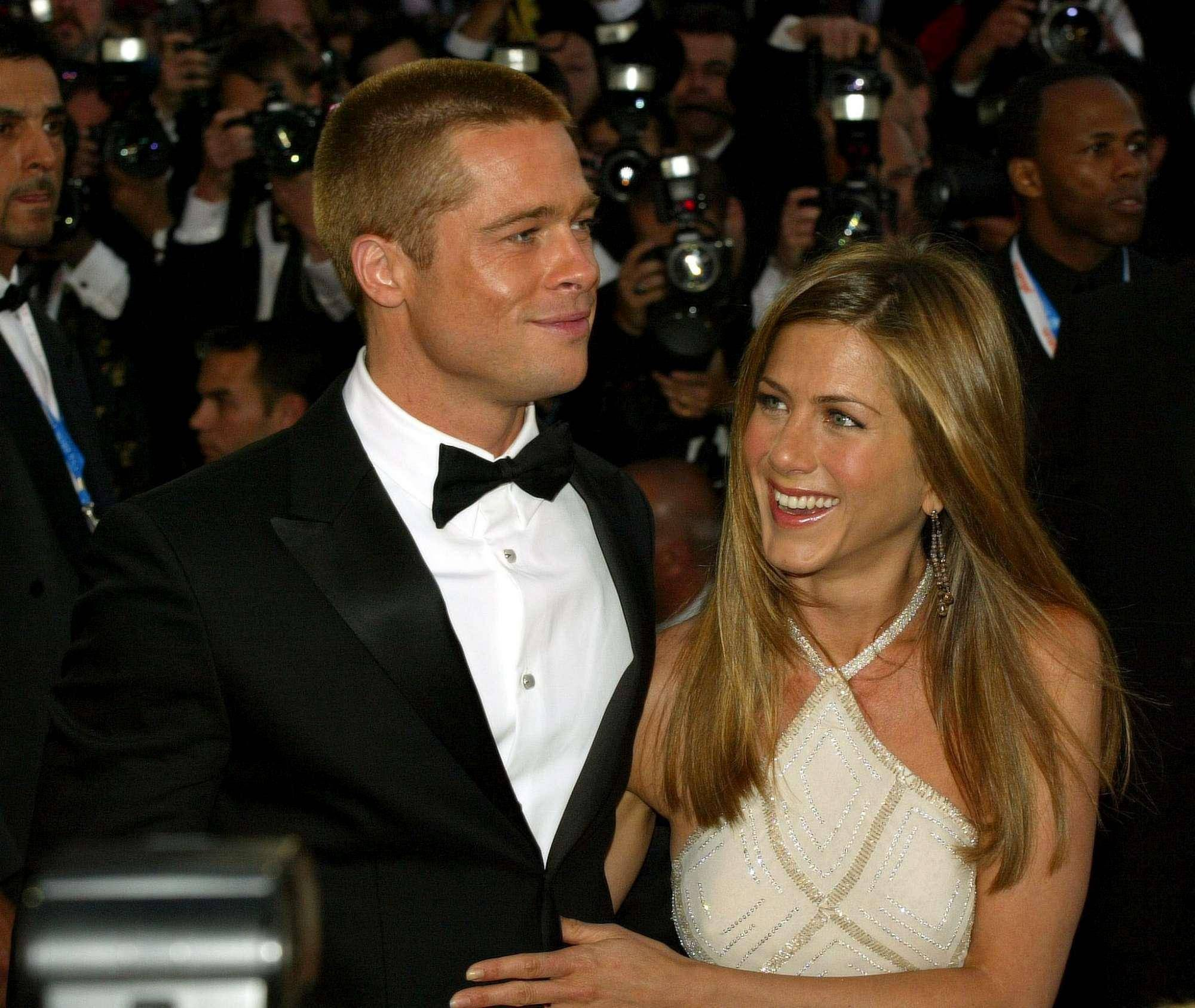 Brad Pitt e Jennifer Aniston