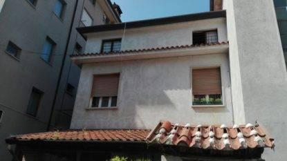 L'appartamento che si è incendiato in provincia di Gorizia