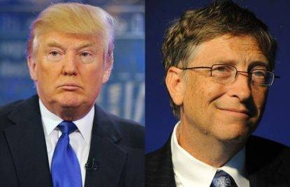 Usa, Bill Gates su Trump: