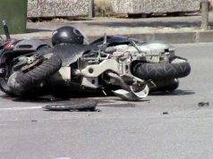 moto incidente