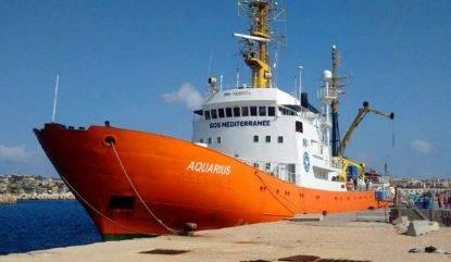La Spagna accoglierà l'Aquarius, Salvini esulta