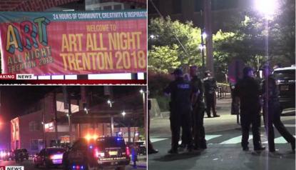 Art all night di Trenton, sparatoria al festival americano