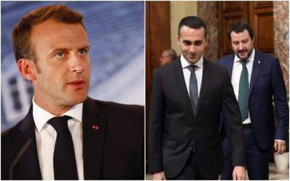 """L'Italia rifiuta il patto-migranti, Macron: """"I populisti in Europa sono lebbra. Di Maio: """"Ipocrita e offensivo"""""""