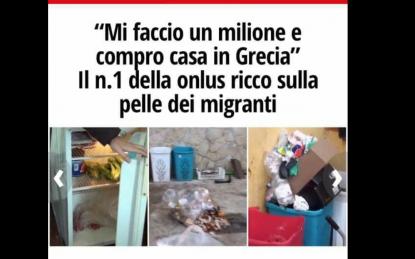 """Per ogni migrante prendevano 32,5€ al giorno, per farli mangiare spendevano 1€. """"Mi faccio la casa in Grecia"""""""