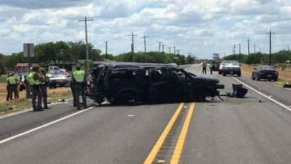 Texas, cinque migranti morti in un incidente a Big Wells